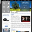 Conjunto de aplicaciones web con edición avanzada multidominio y multilenguaje