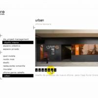 Estudio de arquitectura – Proyectos, Galerías, Información