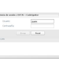Portal AJAX con el CMS PHP CodeIgniter y ExtJS